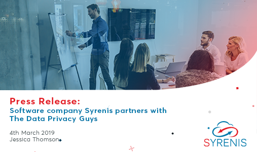 Software company Syrenis partners with The Data Privacy Group