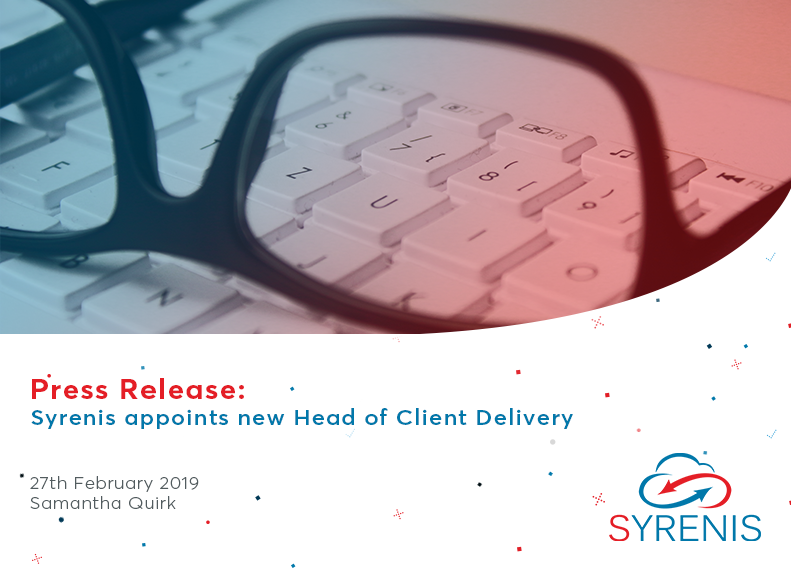 Syrenis appoints new Head of Client Delivery