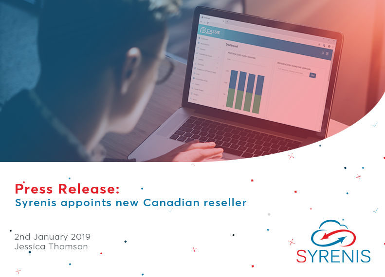 Syrenis appoints new Canadian reseller