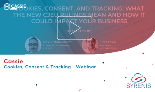 Webinar: Cookies, Consent and Tracking: What the new CJEU rulings mean and how it could impact your business