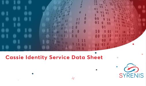 Cassie Identity Service Data Sheet