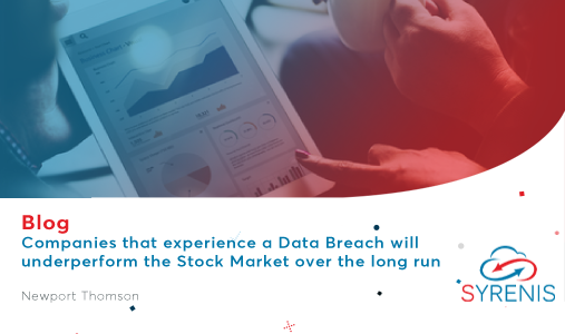 Companies that experience a Data Breach will underperform the Stock Market over the long run