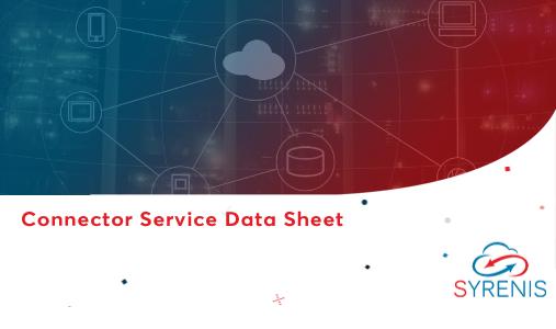 Connector Service Data Sheet