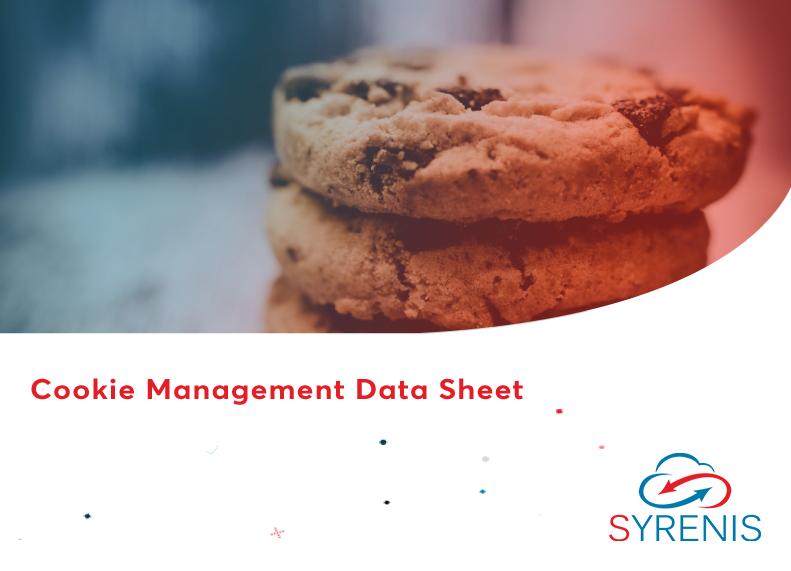 Cookie Management Data Sheet