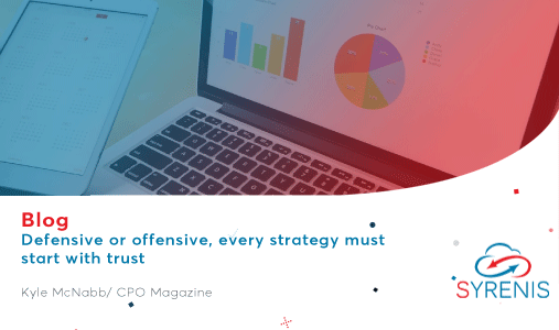 Defensive or offensive, every strategy must start with trust