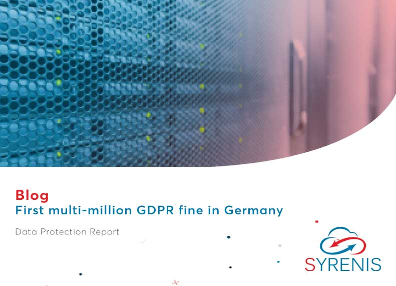 First multi-million GDPR fine in Germany