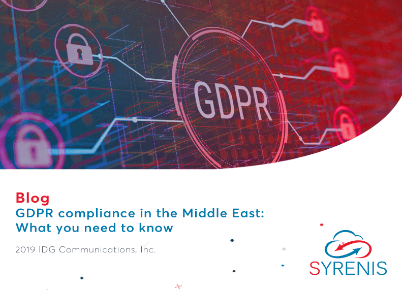 GDPR compliance in the Middle East: What you need to know