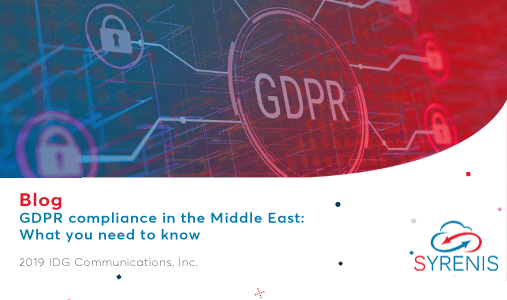 GDPR Compliance In The Middle East, What You Need To Know