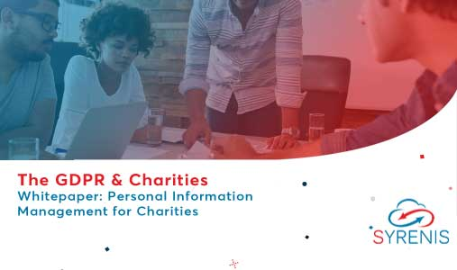 Report: Personal Information Management for Charities