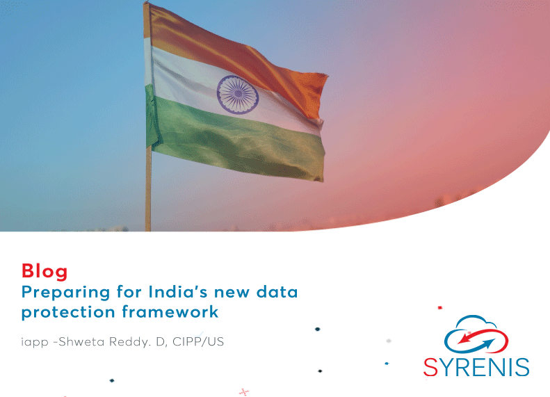 Preparing for India's new data protection framework