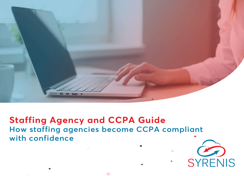 Staffing Agency and CCPA Guide