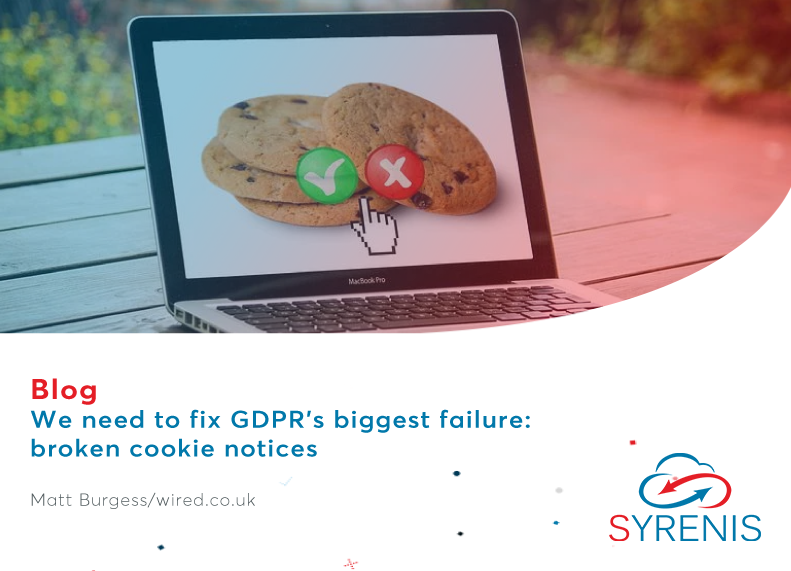 We need to fix GDPR's biggest failure: broken cookie notices
