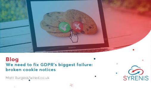 We need to fix GDPR's biggest failure: broken cookie notices